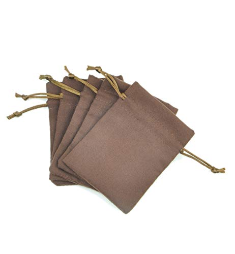 Suede Mini Bag - FantasyLife Suede Fabric Drawstring Bag Jewelry Bag Gift Bag Small Mini Carrying Storage Pouch Wrap -5pcs