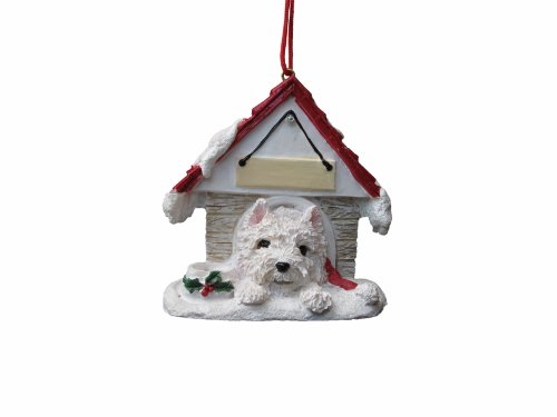 - Westie Ornament A Great Gift For Westie Owners Hand Painted and Easily Personalized