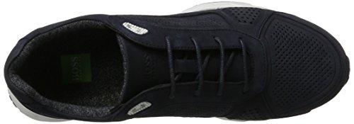 Boss Athleisure Herren Velocity_runn_nupf 10201647 01 Sneaker Blau (blu Scuro)