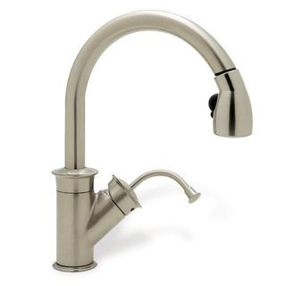 Blanco 157-060-CR Rados Pull-Out Kitchen Faucet, Chrome with Chrome Spray
