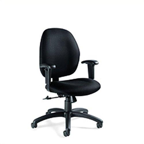 Global Graham Pneumatic Ergo-Tilter Chair, 37 1/2