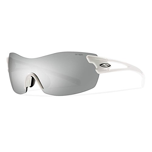 Smith Optics Pivlock Asana Sunglass with Platinum, Ignitor, Clear Carbonic TLT Lenses, - Tlt Optics