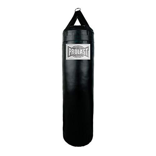 Prolast ノー リップ 6フィート ヘビーバッグ パンチやキックに ボクシング、総合格闘技、ムエタイ、キックボクシングに最適 最高のフィットネスワークアウトに B07Q7VS9VR ブラック Un-filled without bottom D-Ring