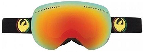 Rasta w /レッドミラーDragon APXミラーフレームレスメンズスキースノーボード雪ゴーグル+レンズ