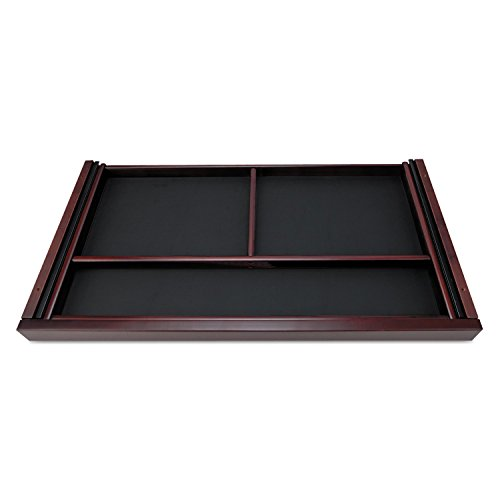 Alera RN312415MM Verona Veneer Series Center Drawer, Veneer, 24 x 15 x 2, Mahogany