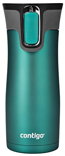Contigo AUTOSEAL West Loop Stainless Steel Travel Mug, 16 oz, Bright Lavender