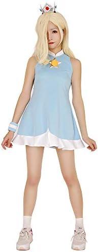 Miccostumes Women\u0027s Rosalina Cosplay Costume Halloween Dress