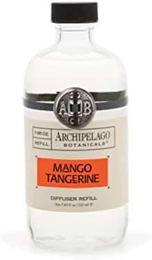 Archipelago Diffuser Refill, Mango Tangerine, 7.85 oz.