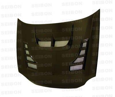 Seibon Carbon Fiber CW-Style Hood Subaru WRX 02-03