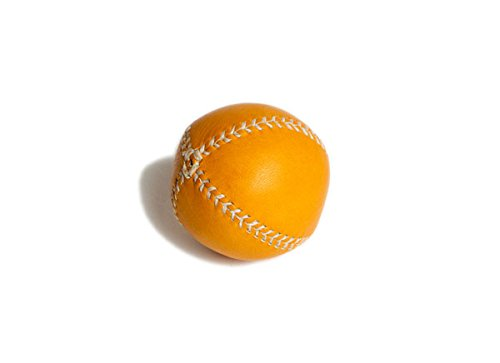 Baseball Lemon Peel (Lemon Ball Baseball. Tan Horween Glove Tan Leather, White Stitch Lb-Gtan-Wh)