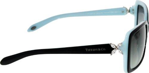 Tiffany & Co Women's Gradient Black Rectangle Sunglasses
