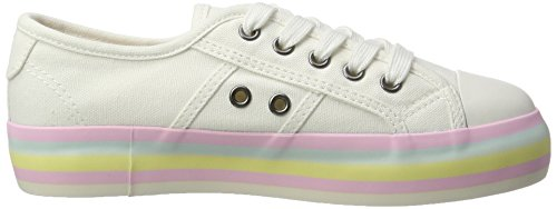 Weiß Dog Para Magic pastal Mujer white Zapatillas Rocket XCq6wBTX