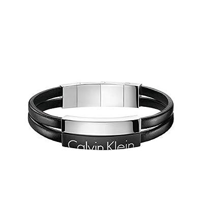 7d2473aa7fb Calvin Klein Homme Acier Jonc - KJ5RBB290100  Amazon.fr  Bijoux