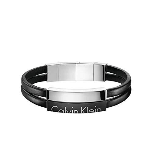 venta caliente online e2d23 9215c Calvin Klein Brazalete Hombre acero inoxidable ...