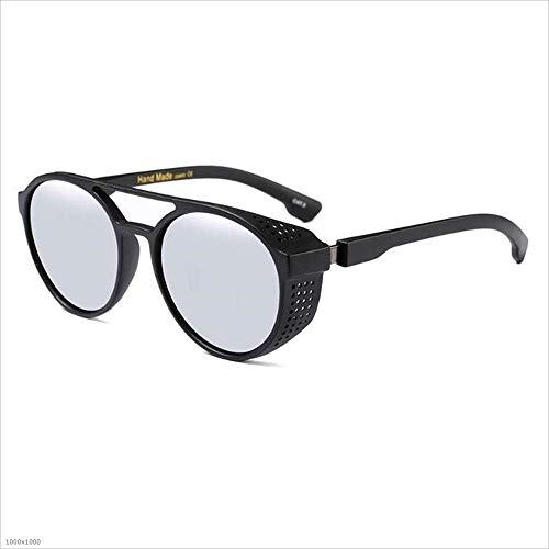 Holiday Summer Plata Sunglasses Polarizado Steampunk Hombre Marrón Driving Señora UV Cool 100 Protección Fishing Beach protección UV Color de U0Px5zq0