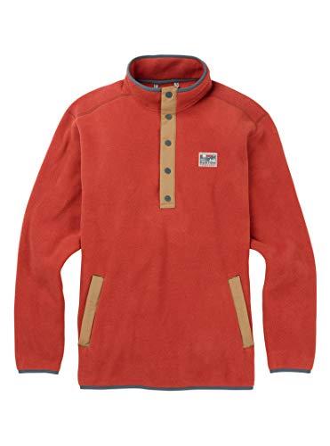 Burton Men's Crown Bonded Pullover Hoodie, Web, Medium