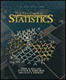 img - for A First Course in Statistics book / textbook / text book