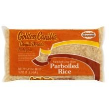 Goya Golden Canilla Parboiled Long Grain Rice, 1 Pound (Pack of 30) ()