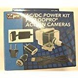 AC-GP AC Adapter Power Kit for GoPro HERO3+ HERO4 CHDHY-401 CHDHX-401 CHDBX-401