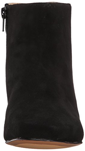 Suede Nine Huggins Boot West Women's Leather Black Bq0BR