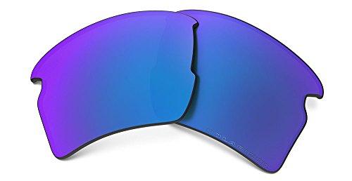 Oakley 101-351-017 Flak 2.0 XL Replacement Lens Sapphire Irid ()