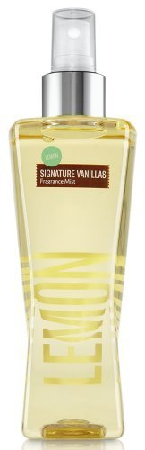 Bath & Body Works Lemon Summer Vanillas Fragrance Mist 8 fl oz (236 ml)