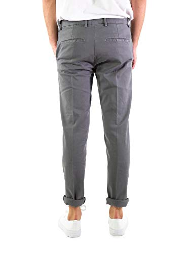 Basic Yan Slim Simmon A104man Art Grigio Pantaloni qttOUr1