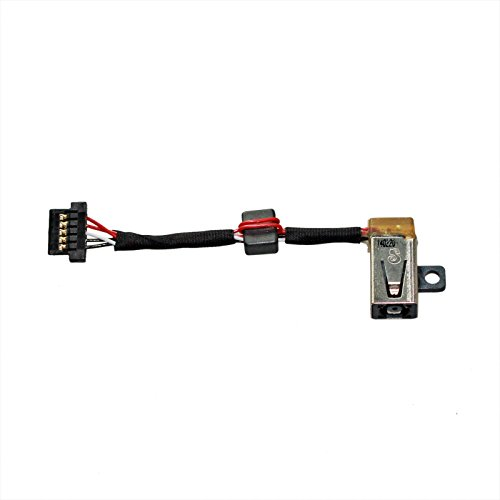 GinTai DC Power Input Jack w/Cable Harness Replacement for Dell XPS 13 9343 9350 9360 P/N: 0P7G3 CN-00P7G3