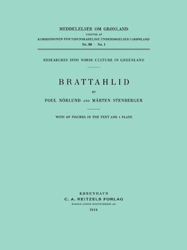 Brattahlid (Monographs on Greenland)