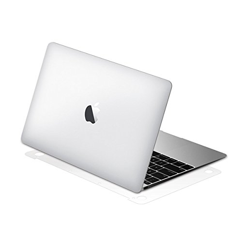 BodyGuardz - UltraTough Clear ScreenGuardz, Crystal Clear Skin Anti-Microbial Body Protection - Bottom Only for Apple MacBook Pro 13-Inch (2015) ()