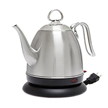 Chantal ELSL37-03M BRS Mia Ekettle Electric Kettle 32 oz Brushed Stainless Steel