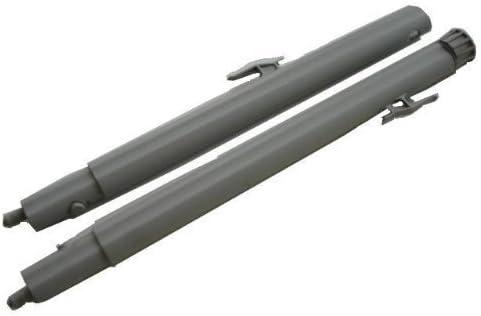 Original juego de Polti Vaporetto 2 x 950 blanco aspiradora de vapor para cocinar al vapor de repuesto de extensión con varillas de tubos - Número de pieza: PRC20604: Amazon.es: Hogar