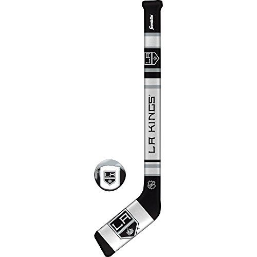 Franklin Sports NHL Los Angeles Kings Team Soft Sport Hockey Set
