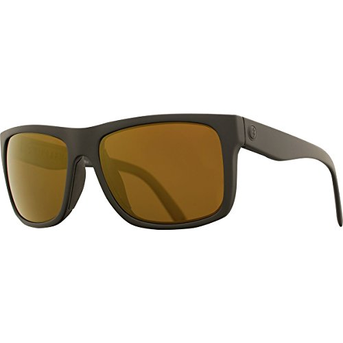 Electric Visual Swingarm S Matte Black/OHM+Polarized Bronze Sunglasses by Electric