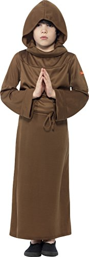 Costumes History Carnival (Large Brown Horrible Histories Children's Fancy Dress Monk)