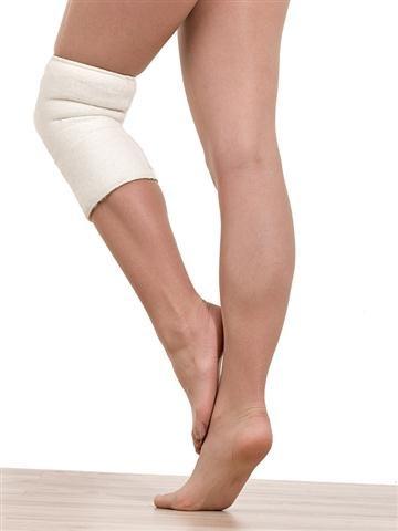SamWo, 1 Kniewärmer/ Gelenkwärmer sensitiv Floor 100% Merinowolle, elastisch, bei 30 Grad waschbar, Größe S