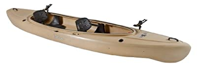 Old Town Canoes & Kayaks Twin Heron Tan Angler Recreational Fishing Kayak