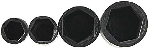 M8 M10 de Nylon Impermeable Perno C/úpula de Nylon Tuerca Hexagonal Cubierta de Perno Agger Casquillo de la protecci/ón del Protector de la Cubierta del Casquillo del Casquillo M6
