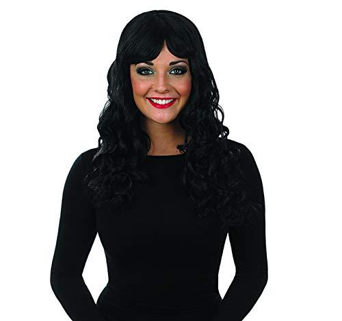 - fun shack Women's, Curly Wig Black One Size