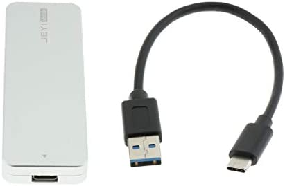 P Prettyia Carcasa NVMe Cable USB 3.1 a USB 3.0 Almohadilla ...