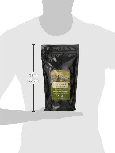 Numi Organic Tea Gunpowder Green, 16 Ounce Pouch of Bulk Premium Loose Leaf Green Tea, Organic Full Leaf Green Tea, For Use in Tea Pot or Tea Strainer by Numi Organic Tea (Image #4)