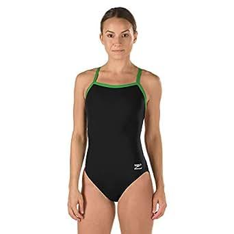 Amazon.com : Speedo Women's Race Endurance+ Polyester