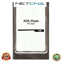 MEM-12KRP-FD1G Cisco 1GB Flash Disk PCMCIA 12000 Series Routers 100% Compatible memory by NETCNA USA (Disk Pcmcia Series Flash)