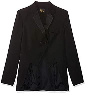 Bee U by Joelle Behlock women's tuxedo dubetti jacket, black, 44 EU (Manufacturer Size:XX-Large)