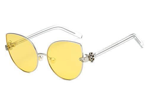 Hombre de Gafas Ojos C Personalidad Retro Mujer Intellectuality Sol de de Gafas B Sol polarizadas FR1pA5nc