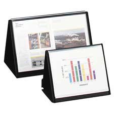 Lion Office Products : Flip-N-Tell Horizontal Easel, 11\