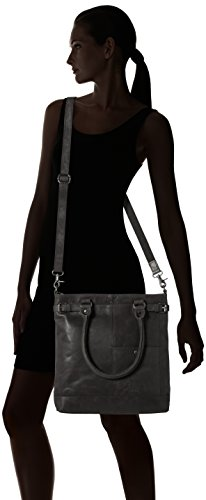Sansibar Shopper Bag, Borse a secchiello Donna Nero