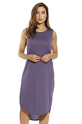 Just Love Modal Sleeveless High Low Dress / Dresses for Women