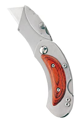 Sheffield 58132 Elliptic Folding Lockback Utility Knife