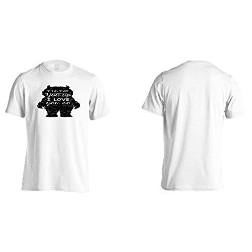 Ich Werde Dich Auffressen Herren T-Shirt k717m